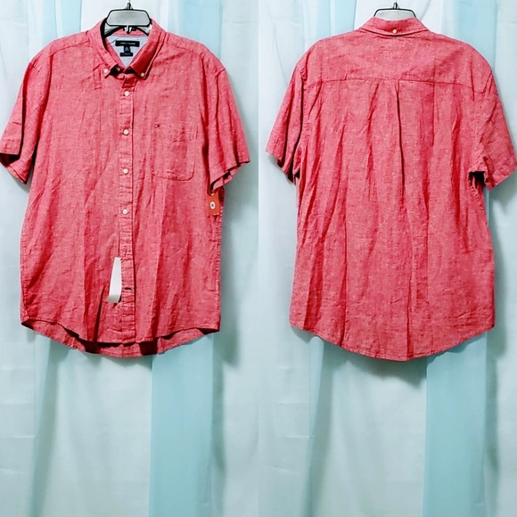 Tommy Hilfiger Other - Tommy Hilfiger Button down Shirt size XL🆕🦅